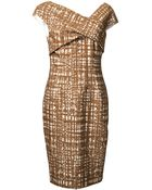 Lela Rose Sheath Dress - Lyst