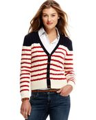 Tommy Hilfiger Long-sleeve Striped Cable-knit - Lyst