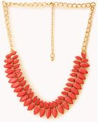 Forever 21 Marquis Faux Stone Necklace - Lyst