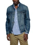 Levi's Denim Jacket - Lyst