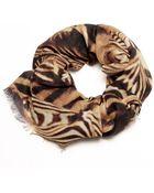 Ananda Design Zebra Wrap - Lyst
