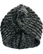Dune Asos Knitted Turban Hat - Lyst