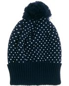 French Connection Bobble Beanie - Lyst