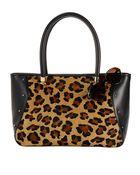Lauren by Ralph Lauren Langley Leather Tote Bag - Lyst
