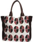 Pinko Medium Fabric Bag - Lyst