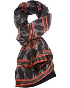 Reality Studio Patterned Scarf - Lyst