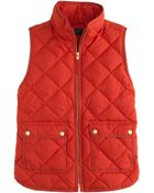 J.Crew Excursion Quilted Vest - Lyst