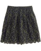 J.Crew Lace Skirt - Lyst