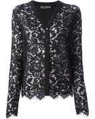 Dolce & Gabbana Lace Cardigan - Lyst