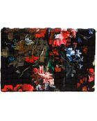 Roberto Cavalli Floral Print Shoulder Bag - Lyst