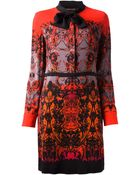 Roberto Cavalli Print Dress - Lyst