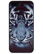 Blissfulcase Wild Tiger In Black Iphone Case - Lyst