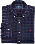 Polo Ralph Lauren Classicfit Plaid Brushed Oxford Shirt - Lyst