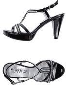 Mauro Fedeli Platform Sandals - Lyst