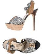 Sam Edelman Platform Sandals - Lyst