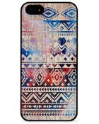 Blissfulcase Aztec Space On Wood Iphone Case - Lyst