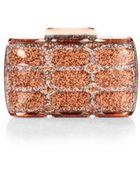 Gucci Aristographic Glittered Plexiglass Evening Clutch - Lyst