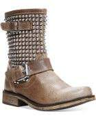 Steve Madden boots mid-calf boots flat boots - Lyst