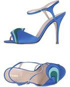Fendi High-Heeled Sandals - Lyst