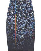 Preen Joslyn Floralprint Cottonblend Pencil Skirt - Lyst