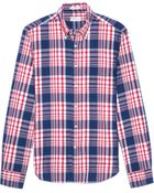 Gant Rugger Indigo Madras Sport Shirt - Lyst