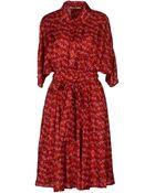 Bgn Kneelength Dress - Lyst