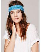 Free People Womens Tie Dye Widebands - Lyst
