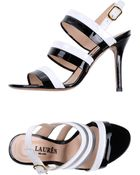 Lauren by Ralph Lauren High-Heeled Sandals - Lyst
