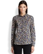 Burberry Brit Floral Button Down Shirt - Lyst