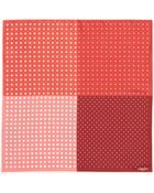 Lanvin Polka Dot Silk Pocket Square - Lyst