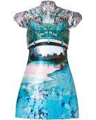 Mary Katrantzou Caspian Jacquard Valee Dress In Multi - Lyst