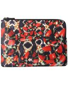 Paprika Edition Large Snake Zip Pouch Red - Lyst