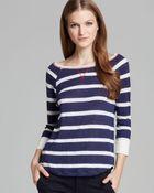 Joie Sweater Adelynn Nautical Stripe - Lyst
