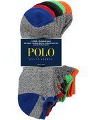 Polo Ralph Lauren Tipped Technical Sport Socks Set - Lyst