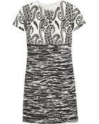 Giambattista Valli Embroidered-Tulle And Jacquard Dress - Lyst