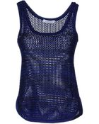 See By Chloé Sleeveless Sweater - Lyst