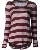 Whetherly Rosewood Striped Sweater - Lyst