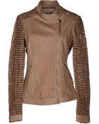 Vintage De Luxe Leather Outerwear - Lyst