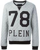 Philipp Plein Checker Sweatshirt - Lyst