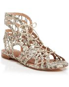 Joie Caged Flat Sandals - Renee - Lyst