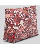 Tory Burch Cosmetic Case Large Slouchy - Lyst