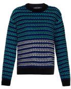 Proenza Schouler Striped Float-Stitch Sweater - Lyst