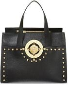 Versus  Studded Saffiano Tote - Lyst