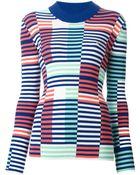 Kenzo Striped Sweater - Lyst