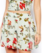 Asos Exclusive Shorts In Floral Print - Lyst