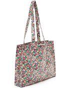 Flowers Of Liberty Betsy Liberty Print Shopper Bag - Lyst