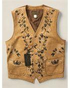 Ralph Lauren Limited-Edition Leather Vest - Lyst