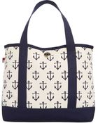 Tommy Hilfiger Th Totes Canvas Small Tote - Lyst
