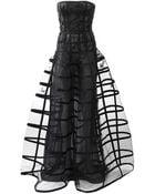 Oscar de la Renta Strapless Ball Gown - Lyst