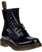 Dr. Martens 1460 Lace-Up Boot Black Patent - Lyst